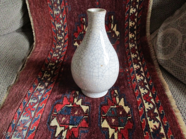 Ching period (probably Chien Lung period) copy of Song period Craquelure vase.