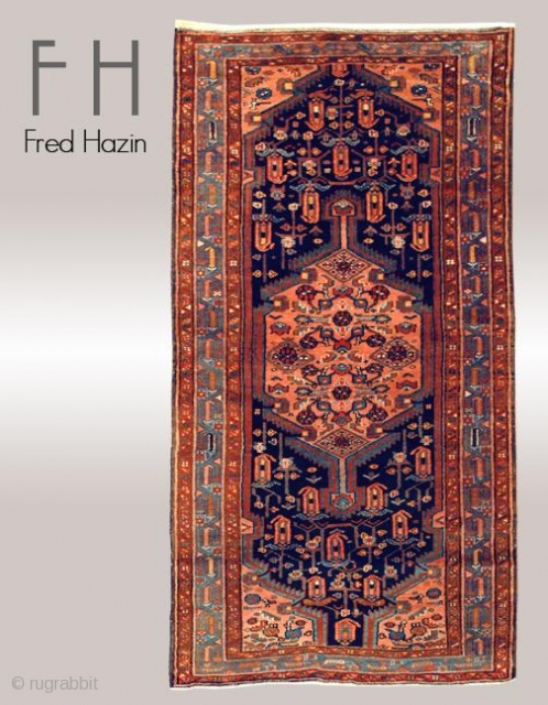 Stock #A105 | Malayer | Circa: 1920\'s | Size: 3.3 x 6.4