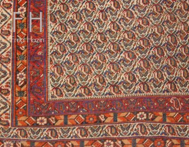 Stock #A162 | Afshar | Circa: 1910\'s | Size: 4.2 x 5.7 feet