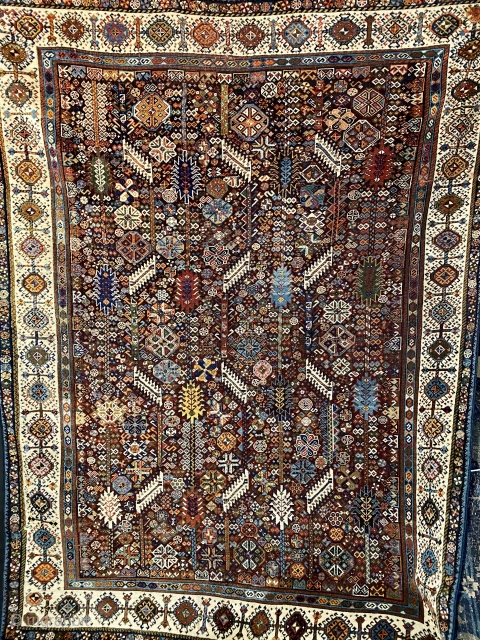 Shekarlu type Qashqai rug  I am proud to announce the grand opening of my new rug shop just north of Berkeley, California on Solano Avenue in Albany where I will be offering a  ...