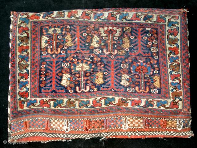 Antique Khamseh bagface  60 x 84 cm