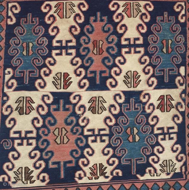 Caucasian 19th Century Heybe 143x54 cm