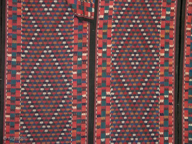 19th Century Yamut Tent Band Size 1470x48 cm