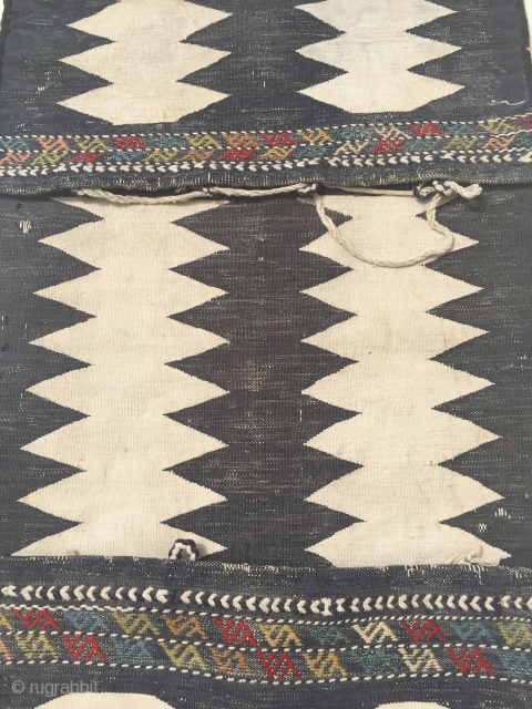 Antique Caucasian Karabagh Heybe 122x44 cm