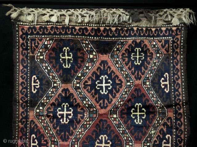 Karakalpak Rug Size  152x260 cm / 4'9'' x 8'6''
