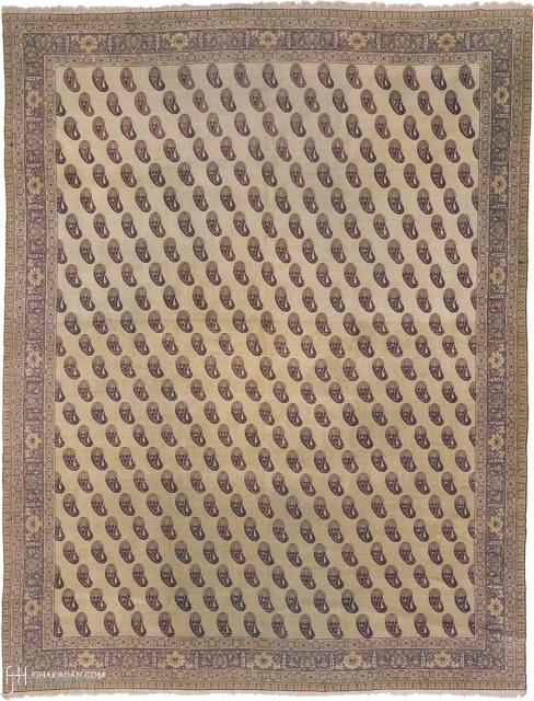"Antique Turkish Sivas Rug Turkey ca.1890 11'7"" x 8'10"" (354 x 270 cm) FJ Hakimian Reference #04090"
