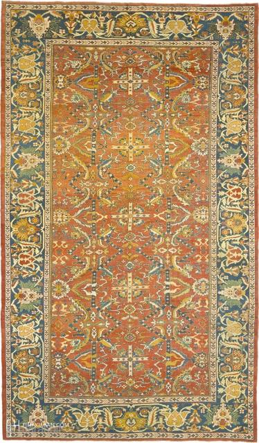 "Antique Persian Sultanabad Ziegler Rug Persia ca. 1890 17'10"" x 10'4"" (544 x 315 cm) FJ Hakimian Reference #06191"