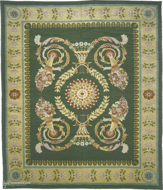 Antique English Savonnerie Rug