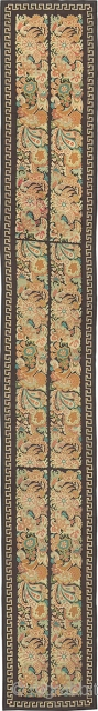 "Antique English Needlepoint Runner Rug England ca.1880 20'9"" x 2'10"" (633 x 86 cm) FJ Hakimian Reference #02690"