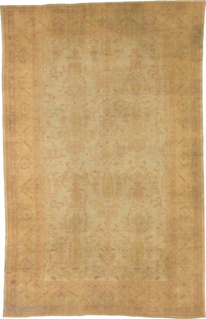 "Antique Turkish Borlou Rug Turkey ca.1910 16'8"" x 10'7"" (509 x 323 cm) FJ Hakimian Reference #04124"