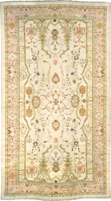 """Indian Rug India ca.1930 36'5"""" x 20'0"""" (1111 x 610 cm) FJ Hakimian Reference #09031"""