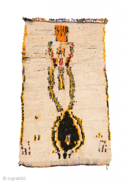 tm 2006, pile rug from the Azilal region, central High Atlas, Morocco, 2000, 195 x 115 cm (6' 6'' x 3' 10''). Exhibited in 2016 at the Douglas Hyde gallery, Dublin http://www.douglashydegallery.com/2016#/textiles-from-the-atlas-mountains-gallery-2/  ...