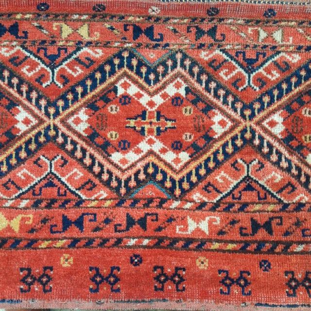 Large antique Ersari/Beshir torba, in great condition, good colours.