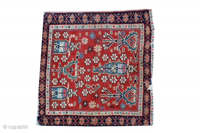 """Pair of antique Northwest Iran mats. 60087 & 60089 20""""x 20"""""""