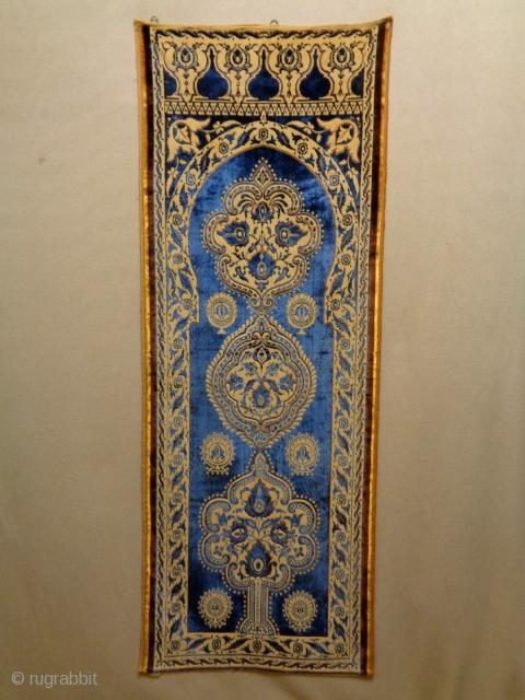 African Textile Size: 62x166cm (2.1x5.5ft)
