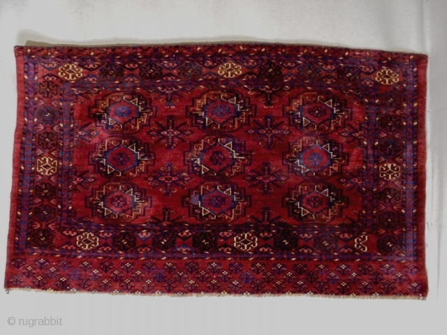 19th Century Fine Turkmen Cuval