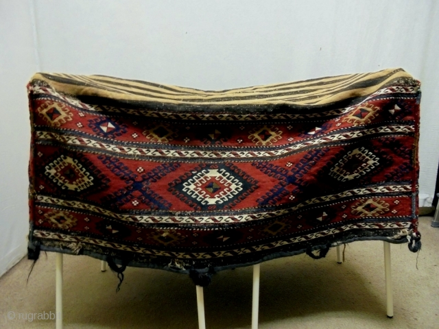 19th Century Baby Rocking Cradle