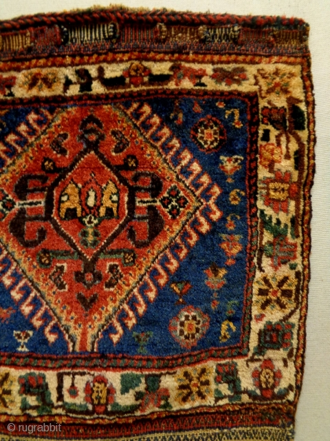 Qasqhay Bag Complete Size: 31x103cm Natural colors, made in circa 1910/20