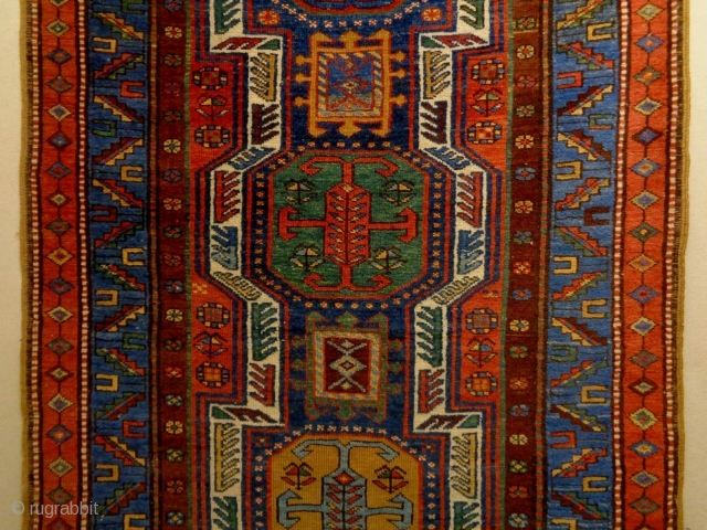 Kurdish/North West Persian Runner Size: 112x430cm Natural colors, made in period 1910