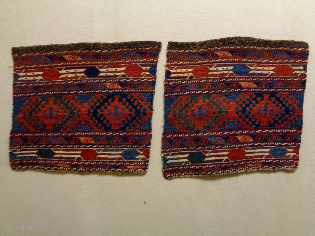 Two Caucasian Soumakh Bagfaces