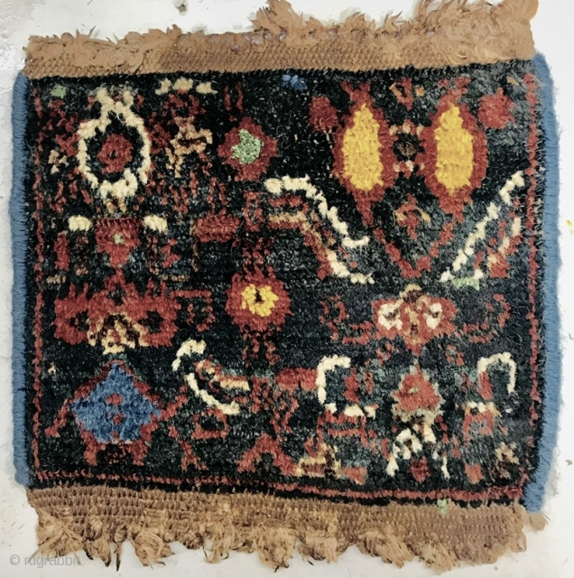 beautiful old Senneh Wagireh,size 20x20cm