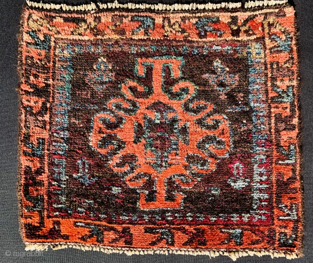 Baluch bagface 1870 circa size40x42cm