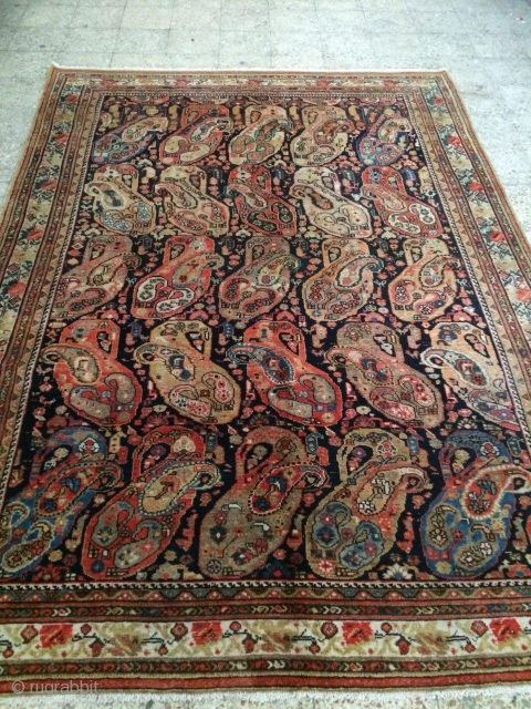 Malayer carpet in good condition,Size:307 x 220 cm