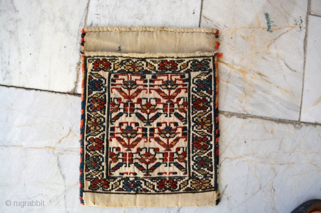Shahsavan small bag,Size:27x24 cm