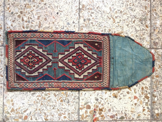 Antique Quran bag cover from shahsavan groups in north west of persia in perfect condition,Size:60x 24 cm