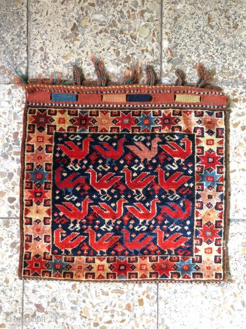 SW Persia chanteh in a good condition,Size:41x44 cm
