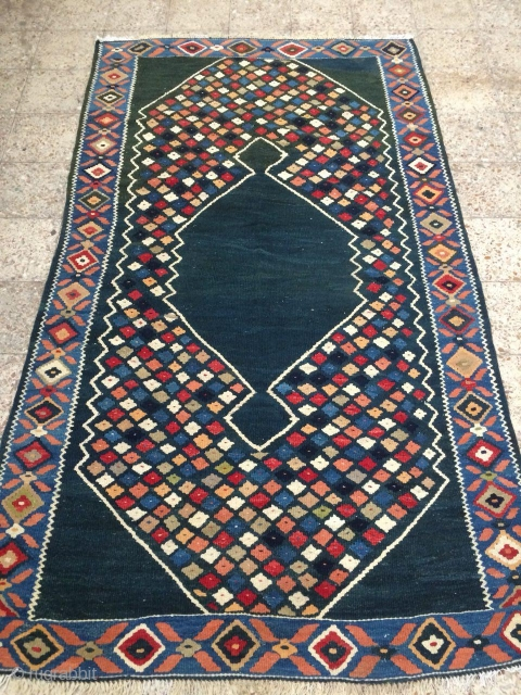 Nw Persia kordish kilim possibly from Bidjar,Size:268x153 cm