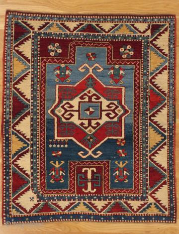 Fachralo Kazak prayer rug, Southwest. Caucasus, circa 1885.