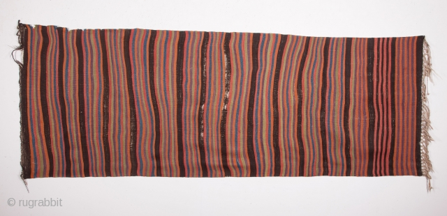 Mid 19th Century Karapinar Kilim size 95x263 cm