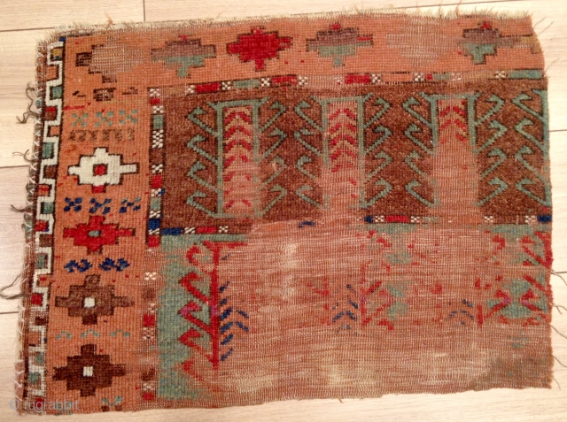 Early Central Anatolian Rug Fragment size 52x70 cm
