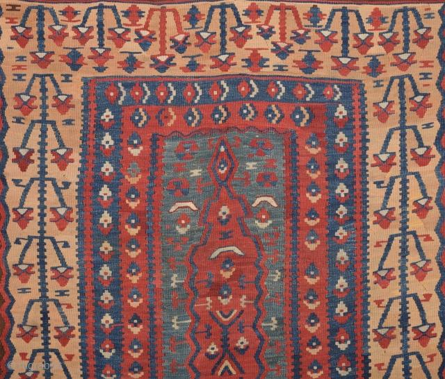 Early 19th Century Erzurum Kilim Prayer size 160x189 cm