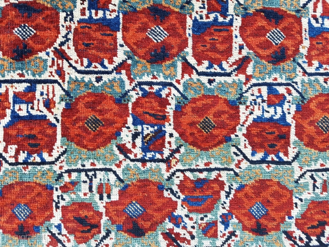 19th Century Persian Khamseh Bag Face size 78xx80 cm