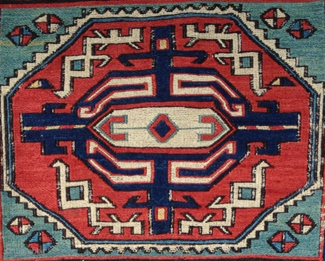Shahsavan Sumak circa 1860-70 size 60x60 cm