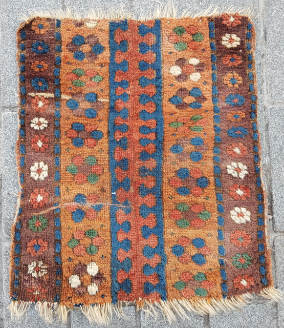 Early Persian Fragment size 60x67 cm
