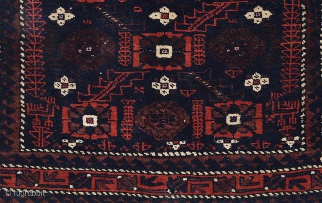 Khorassan Baluch Bag Face size 74x77 cm