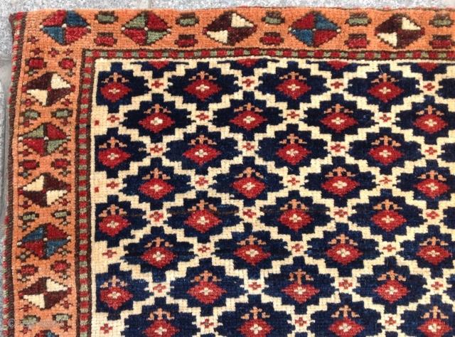 Persian Kurdish Bag circa 1870 size 44x64 cm