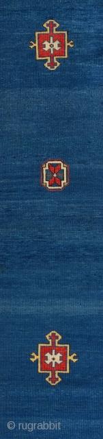 Mid 19th Century Caucasian Shirvan Runner size 100x334 cm
