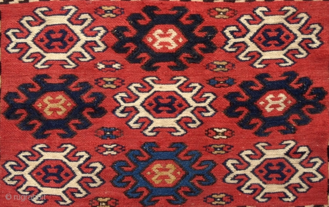 Late 19th Century Shahsevan Sumac size 25x36 cm