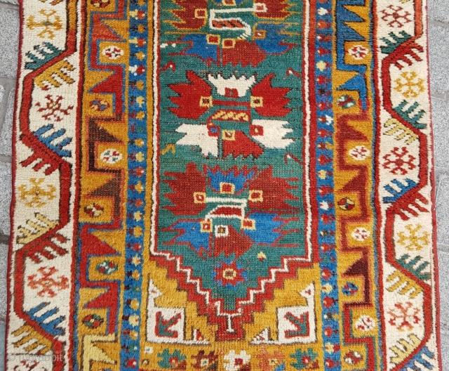 Lovely Small Megri Rug circa 1870 size 90x145 cm