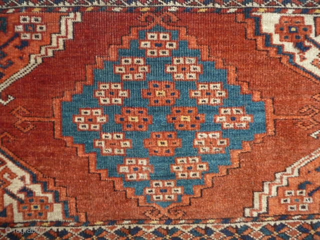 ca.1870 CHODOR Torba,..wonderful natural colour,size:32x147 cm  1x4.8 ft