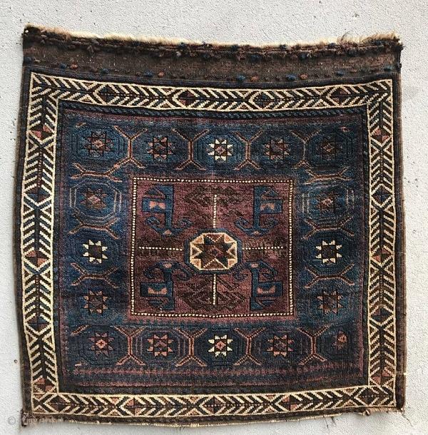 Baluch Bagface Size: 84x78cm Natural colors,