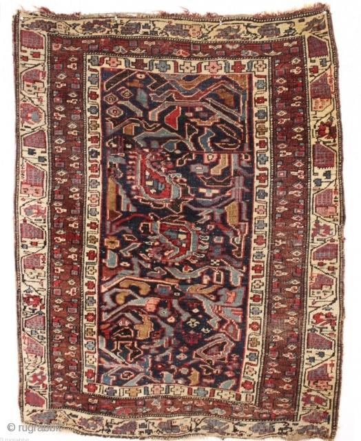 Bijar rug,circa1870.