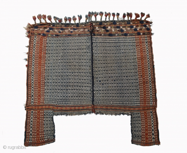 Qashqai flatweave,horse cover 1890 circa all natural colors and very good condition size 150x150cm>available