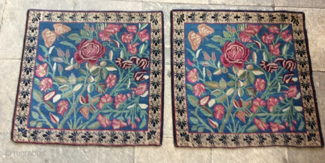 Paired Kerman Lavar 1870 circa  in very good condition size 60x60cm