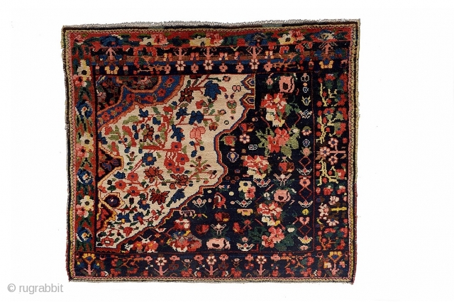 Bakhtiyari Wagireh 1880 circa,size 117x104cm in good condition-please ask for more imagines