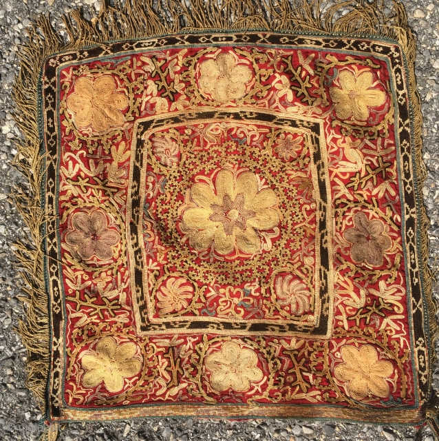 Antique Kyrgyz Embroidery